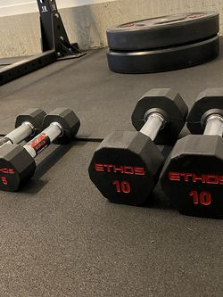 ETHOS Rubber Hex Dumbbell for Sale in Chino Hills,  CA