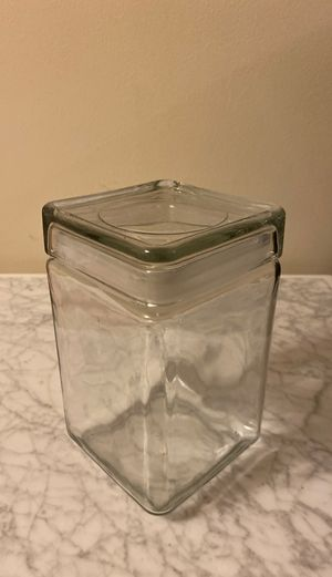 Clear cookie jar for Sale in New York, NY