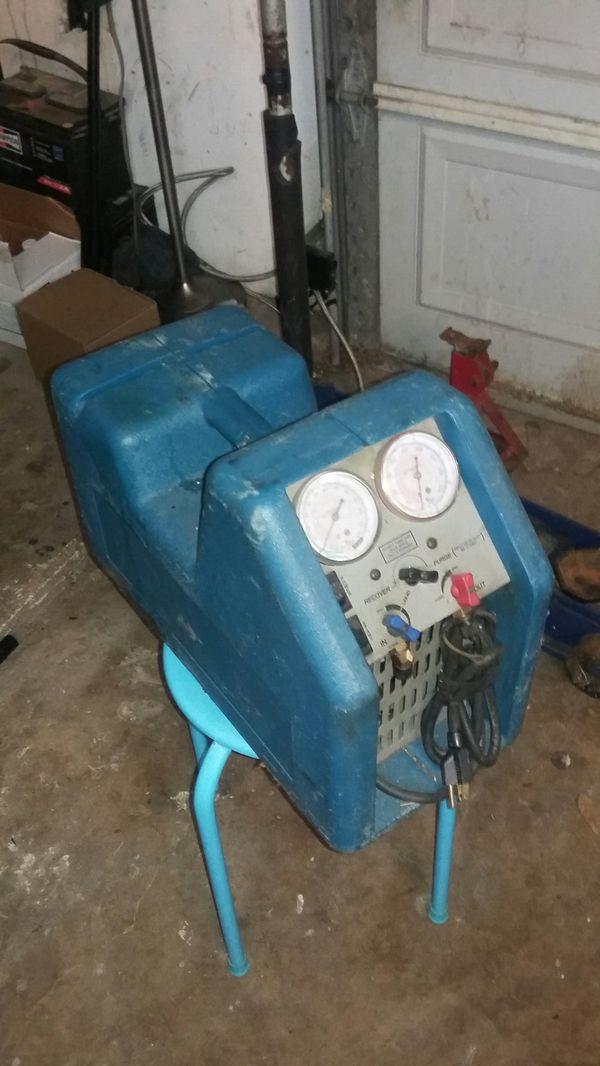 Maquina para recuperar Freon