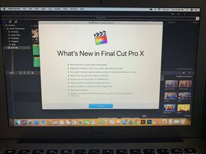 Final Cut Pro X (MAC) for Sale in Chicago, IL
