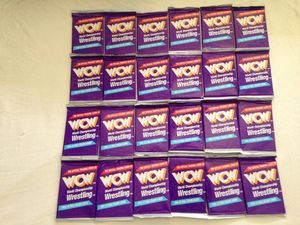 WCW Wrestling Year 1991 Trading Cards Packs. 12 Full Color Cards Per Pack New All For $40 for Sale in Reedley, CA