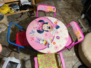 Kids tables and chair for Sale in East Haven, CT