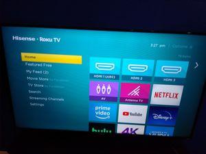 55 inch Hisense Roku TV for Sale in Manassas Park, VA