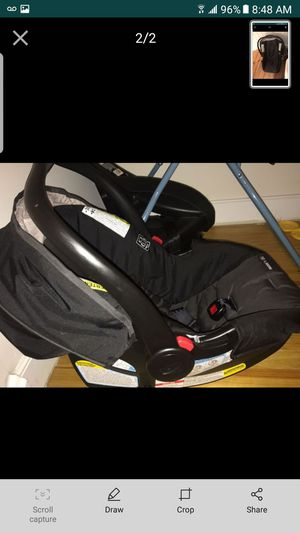 Graco infant rear facing car seat for Sale in Weehawken, NJ