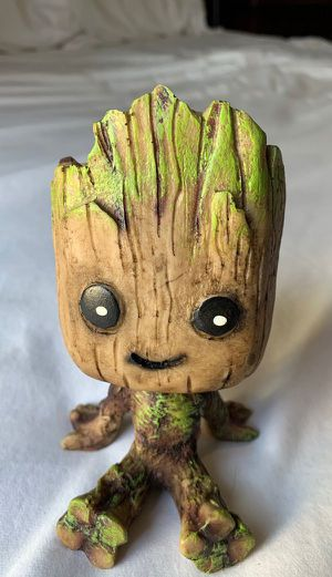 Baby groot planter pot for succulents for Sale in Anaheim, CA