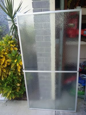 Shower Doors -2- with metal frames for Sale in Orlando, FL