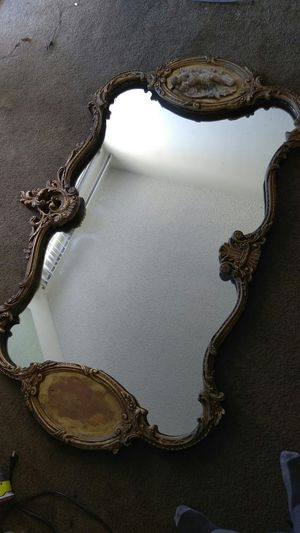 Large Antique Gold Mirror for Sale in Los Angeles, CA