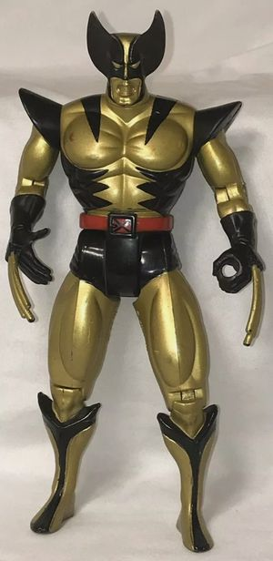 1993 Gold Wolverine Action Figure Pre-Owned Very Good Condition for Sale in Baltimore, MD