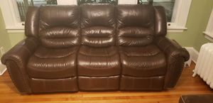 Dual reclining couch for Sale in Yonkers, NY