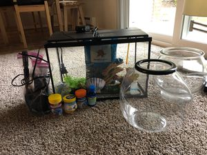 Fish tank starter everything you need! for Sale in Tacoma, WA