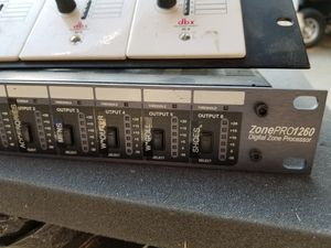 DBX zonepro1260 for Sale in Yucaipa, CA