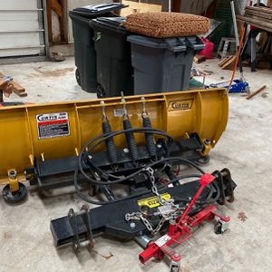 Curtis 6ft Plow For Kubota Or Tractor Bucket for Sale in Kingston, MA
