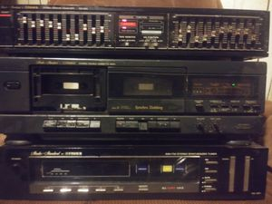 Stereo 3 Piece Set, Receiver,Equalizer,Studio Tape Deck (Fisher Standard) for Sale in St. Louis, MO