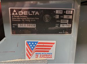 Delta Cabinet Table Saw for Sale in Pepperell, MA