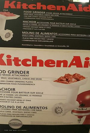 Kithenaid food grinder brand new for Sale in Los Angeles, CA