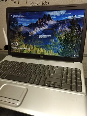 15 inch HP laptop Windows 10 new battery for Sale in Las Vegas, NV