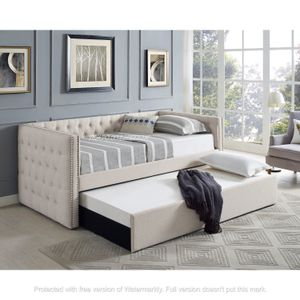 NEW IN THE BOX. DAYBED IVORY , SKU# TC5335IV for Sale in Santa Ana, CA