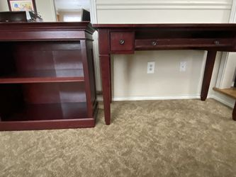 Desk And Book Shelf - Sold As Set for Sale in Puyallup,  WA