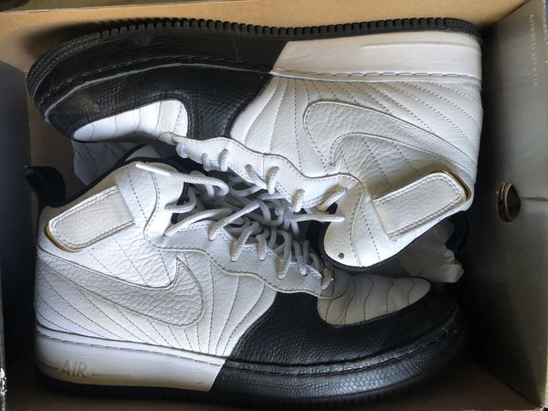 Nike Air Jordan's AF -1 Two-3 blk/wht