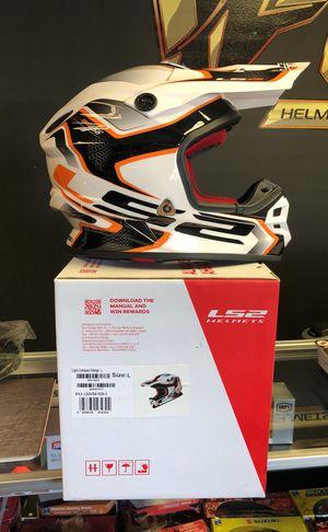 Ls2 light compass motorcycle helmet LG for Sale in Orlando, FL
