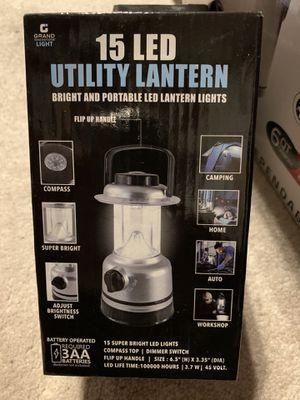 NEW 15 LED LANTERN for Sale in Stockton, CA