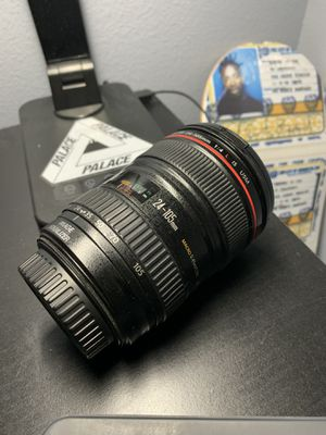 Canon 24-105mm L f-4 for Sale in Menifee, CA