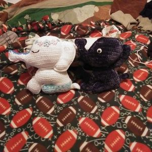 $30 Each Crocheted Elephants Perfect For A Little Baby. They Are Very Very Soft Too for Sale in Terrebonne, OR