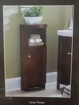 Allen+Roth Linnen Cabinet for Sale in Randolph, MA