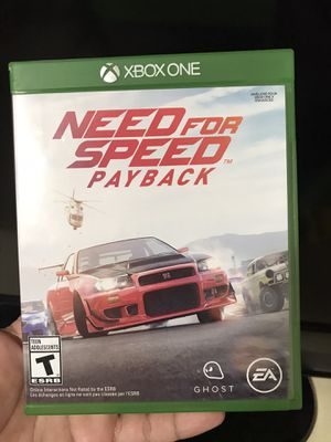 Need For Speed Payback for xbox one for Sale in Gaithersburg, MD