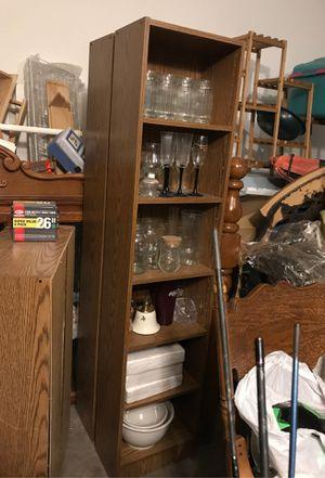 Tall slim book shelves for Sale in Henderson, NV