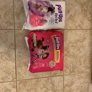 Two Packs Of Pull ups Girls for Sale in New Brunswick, NJ