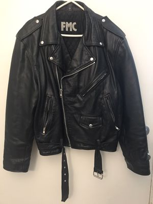 FMC Leather Jacket 48 for Sale in La Mesa, CA