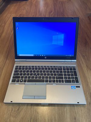 HP EliteBook 8470p core i5 3rd gen 8GB Ram 320GB Hard Drive 15.6 inch Screen Windows 10 Pro Laptop with charger in Excellent Working condition!!! for Sale in Aurora, IL