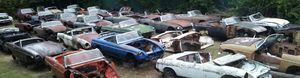 MGB, MGBGT, MG Midget auto parts, what do you need, we might have it! Come get it, it's a real barn find! for Sale in Winters, TX