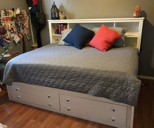 FULL SIZE BED FRAME (MATTRESS NOT INCLUDED) for Sale in Knoxville, TN