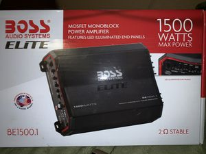 Boss Audio Amp for Sale in Tacoma, WA