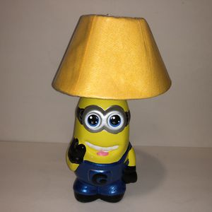 Minion lamp for nightstand for Sale in Fresno, CA