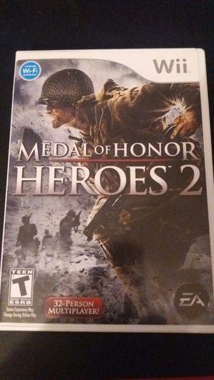 MEDAL OF HONOR Heroes 2 (Nintendo Wii + Wii U) for Sale in Lewisville, TX