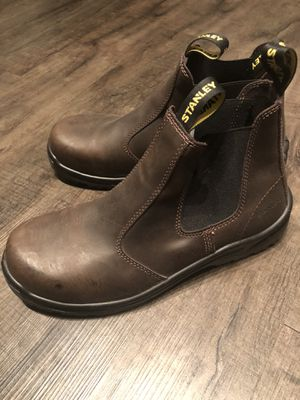 STANLEY Brown Steel Toe Work Boots Size 11.5 for Sale in Dallas, TX
