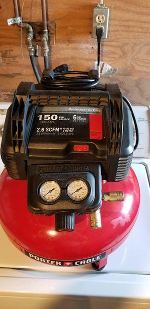 Compressor and nail gun for Sale in Washington, PA