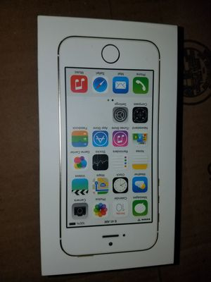 New iPhone 5 S for At&t and cricket for Sale in Huntington Park, CA