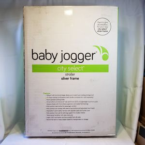 Baby Jogger City Select Single - Silver Frame - Carbon for Sale in Spokane, WA
