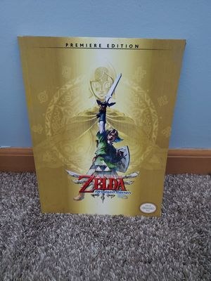 Skyward sword guide book for Sale in Galloway, OH