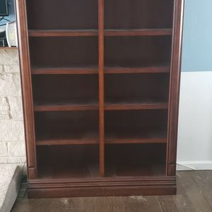 A Set Of Solid Cherry Wood Bookcases for Sale in Grosse Ile Township, MI