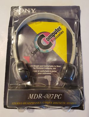 Sony MDR-007PC Stereo Headphones New! for Sale in St. Petersburg, FL