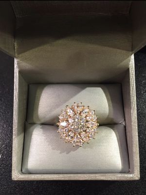 18K Gold plated- Multi Cut - Sparkling ✨ Ring 🤩💍 for Sale in Dallas, TX