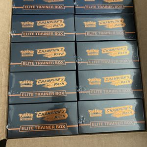 Pokémon Elite Trainer Boxes/Brand New Sealed! for Sale in Huntington Beach, CA