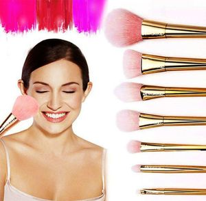 rose gold 7pcs high quality makeup brushes. from LA Makeup for Sale in Los Angeles, CA