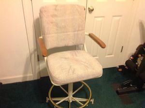 Cream colored bar stool for Sale in Chesapeake, VA