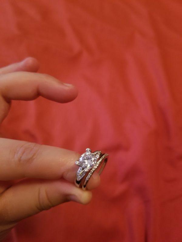Ring silver esterling stamp 9 2 5 size 9